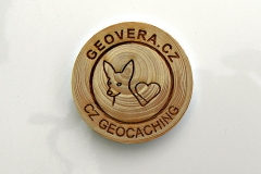 czech wood geocoin 44