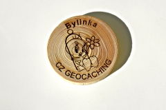czech wood geocoin 52