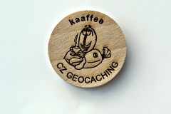 czech wood geocoin 55