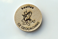 czech wood geocoin 56