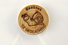czech wood geocoin 59