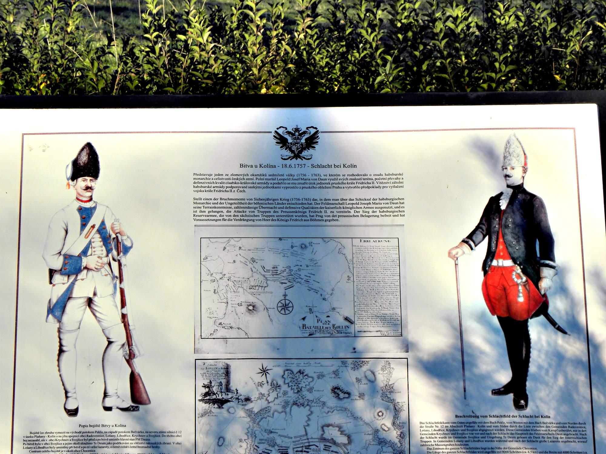 Křečhoř – Památník Bitvy u Kolína 4