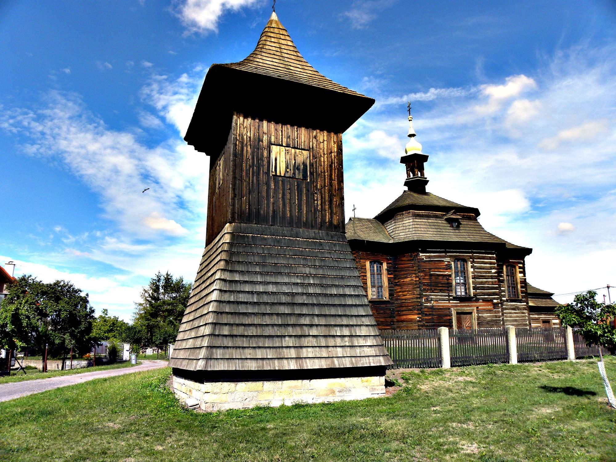 Dřevěný kostel sv. Jiří v Loučné Hoře 2