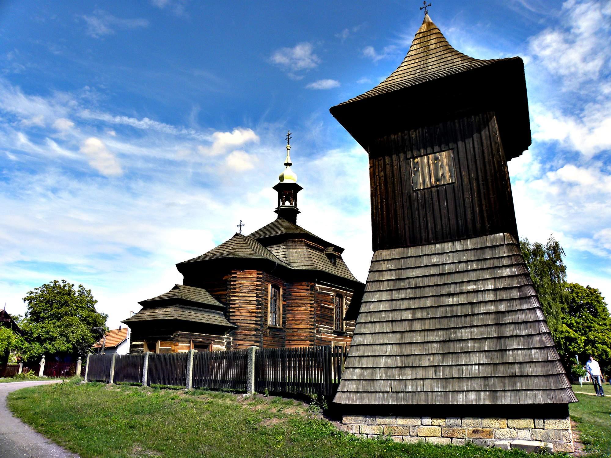 Dřevěný kostel sv. Jiří v Loučné Hoře 3
