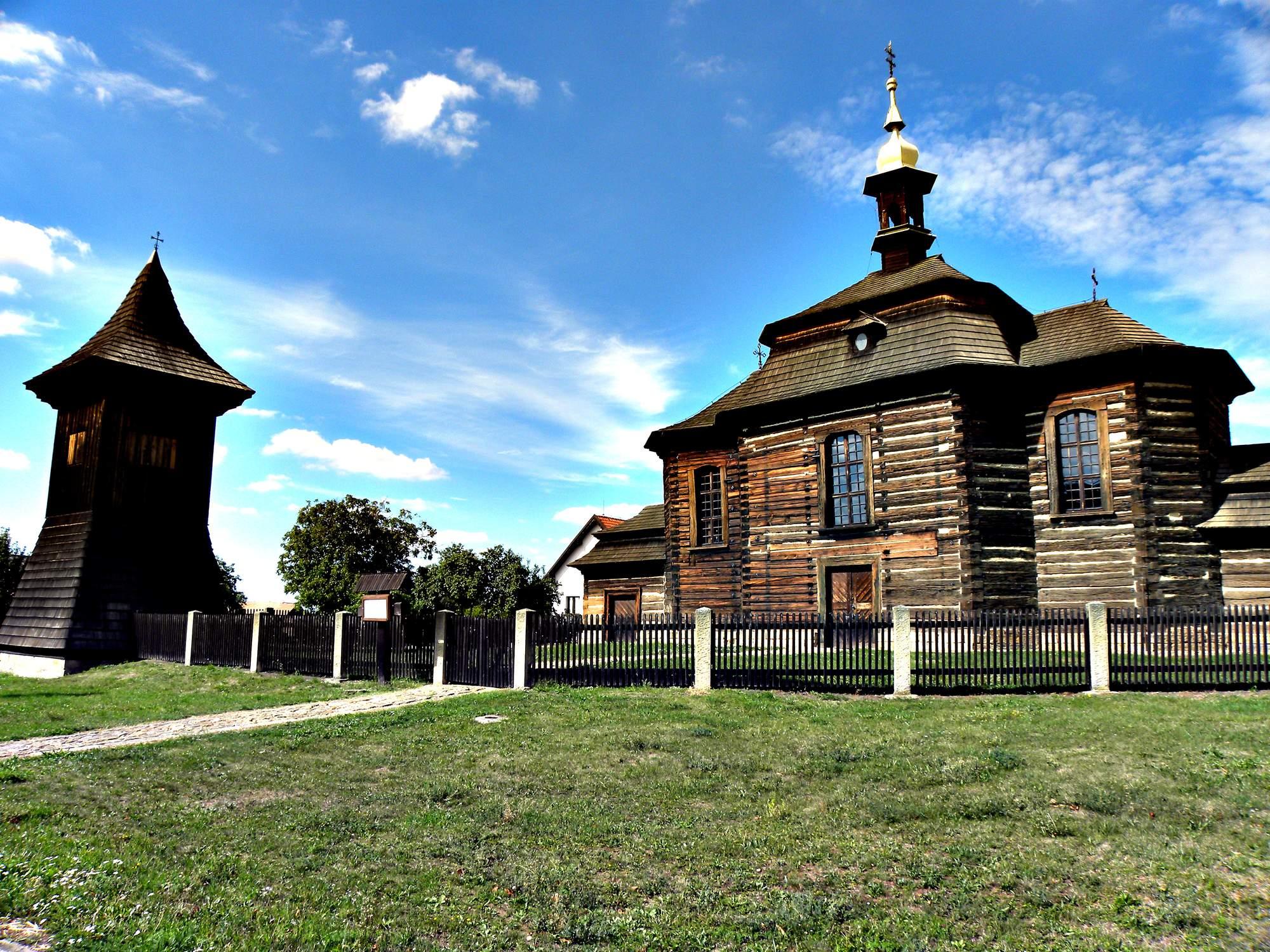 Dřevěný kostel sv. Jiří v Loučné Hoře 6