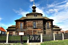 Dřevěný kostel sv. Jiří v Loučné Hoře 1