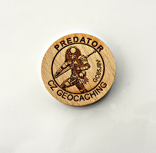 czech wood geocoin 12