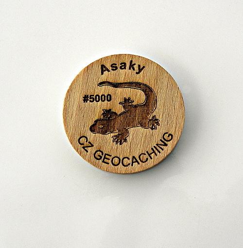 czech wood geocoin 14