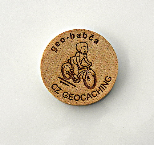 czech wood geocoin 15