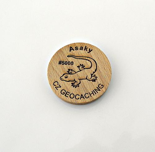 czech wood geocoin 2