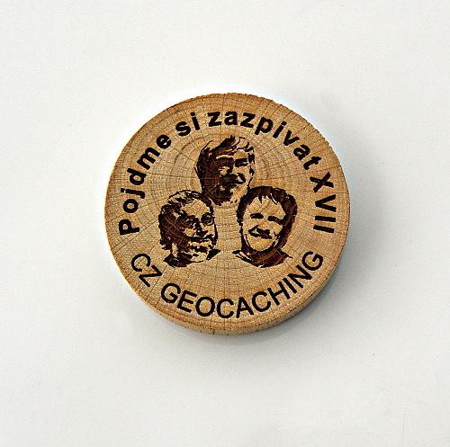 czech wood geocoin 20