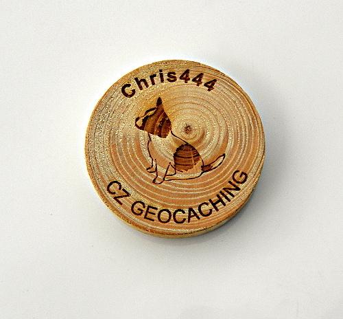 czech wood geocoin 21