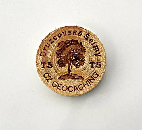 czech wood geocoin 27
