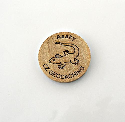 czech wood geocoin 3