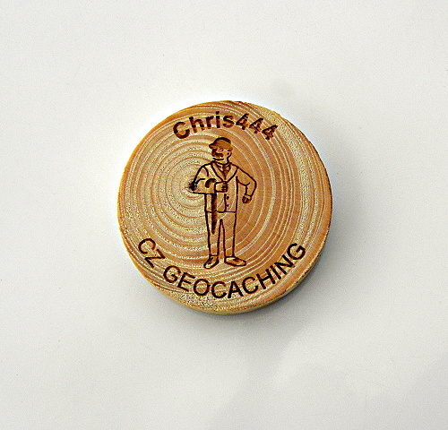 czech wood geocoin 31