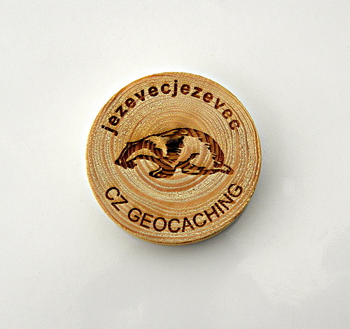 czech wood geocoin 36