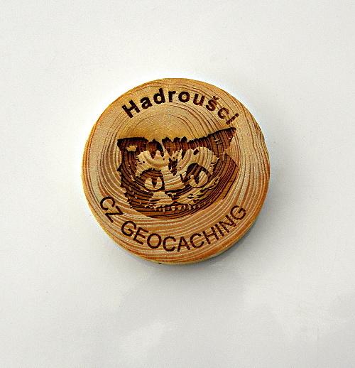 czech wood geocoin 38