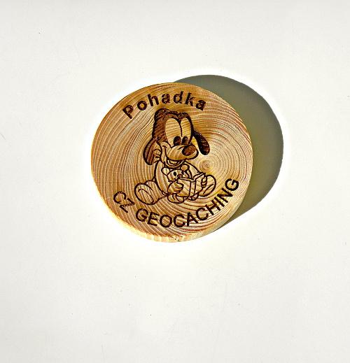 czech wood geocoin 50