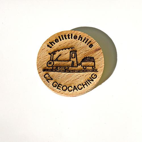 czech wood geocoin 51