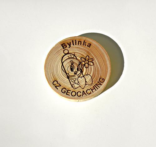 czech wood geocoin 52