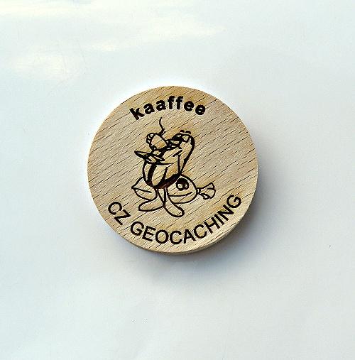 czech wood geocoin 56