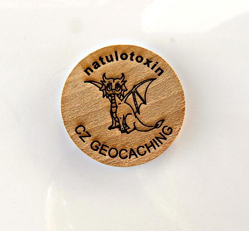 czech wood geocoin 63