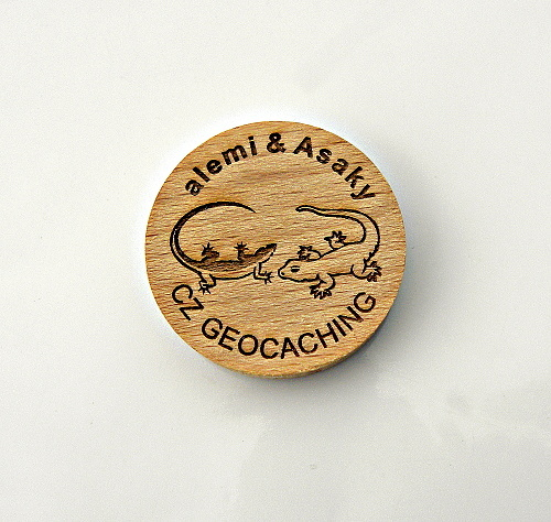 czech wood geocoin 8