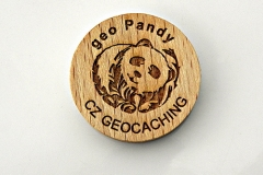 czech wood geocoin 34
